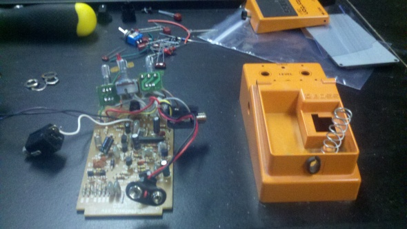 Boss DS-1 Disassembled